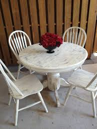 Shabby Chic White Dining Table Dining table Pinterest