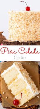 Pina Colada Cake Liv for Cake