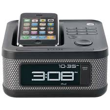Amazon Memorex MI4604P 30 Pin iPod iPhone Alarm Clock Speaker