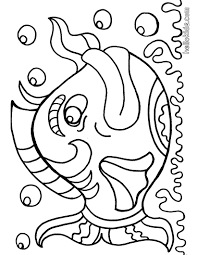 Fish Coloring Template To Color Pages Games Realistic