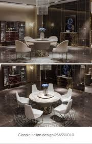 sassuolo marmor möbel rund schwarz und weiß großen esstisch italienischen stil post moderne luxus esszimmer möbel buy menoir schild modenfili