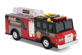100 Tonka Fire Rescue Truck Mighty Fleet Pumper Toys Games Vehicles Remote
