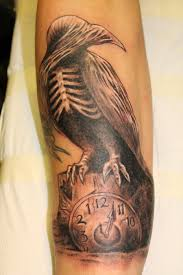 Flames And Wooden Clock Tattoos In 2017 Real Photo Pictures