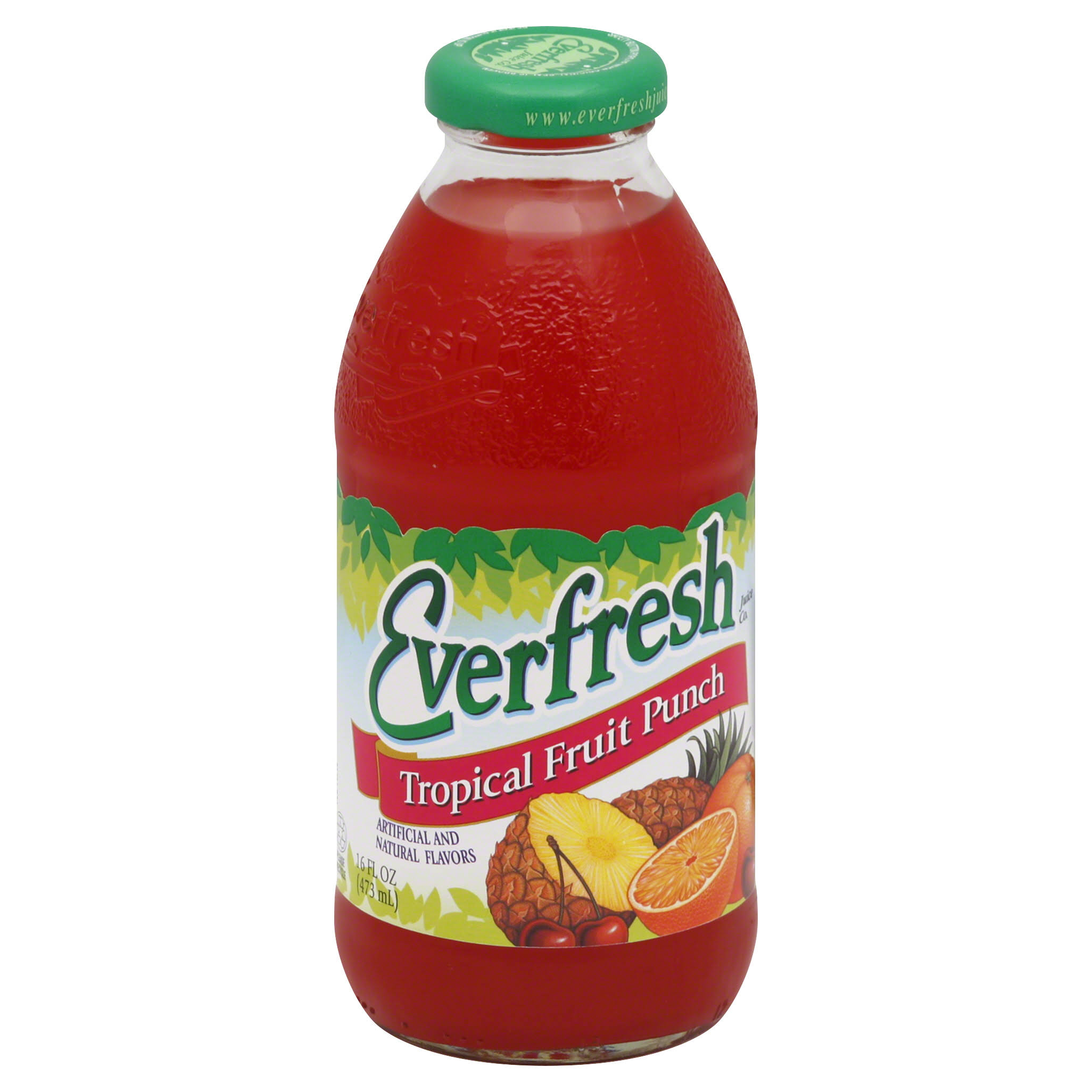 Everfresh Tropical Fruit Punch - 16 Oz
