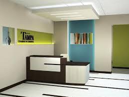 Modern Reception Desk Layout Ideas Canada