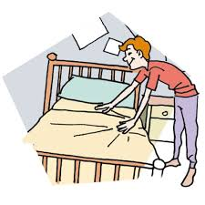 Make Bed Clipart JPEG Image