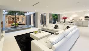 This Living Room Shows That Open Concept Can Be Elegant The Is Not Only To Kitchen And Dining Area But Another