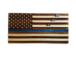 US Police Flag Coin Holder Quick View