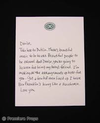 P S I Love You Gerry Gerard Butler Letter Movie Props