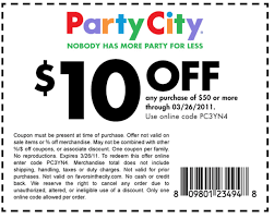 Party City Printable Coupon $10 Off $50 (Expires 3/26) - Al.com Party City Coupons Shopping Deals Promo Codes December Coupons Free Candy On 5 Spent 10 Off Coupon Binocular Blazing Arrow Valley Pinned June 18th 50 And More At Or 2011 Hd Png Download 816x10454483218 City 40 September Ivysport Nashville Tennessee Twitter Its A Party Forthouston More Printable Online Iparty Coupon Code Get Printable Discount Link Here Boaversdirectcom Code Dillon Francis Halloween Costumes Ideas For Pets By Thanh Le Issuu