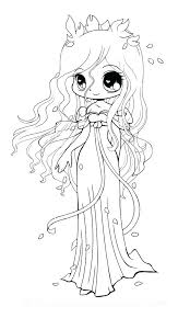 Cute Kawaii Coloring Pages Of Girls Great For In