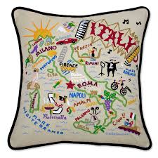 Oversized Throw Pillows Canada by America U0026 Canada Embroidered Pillows Handmade Colorful