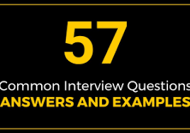 How To Answer Walk Me Through Your Resume From 57 Mon Interview Questions Answers And Examples