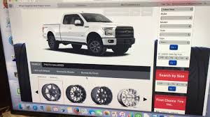 100 Truck Visualizer WHEEL VISUALIZER FIRST CHOICE TIRES INC YouTube