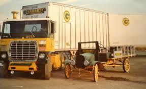 100 Brown Line Trucking ISU Students Capture Story Of Garrett Freightlines Members