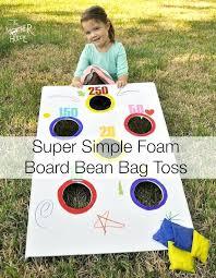 Bean Bag Tossing Game S Baseball Toss Rules