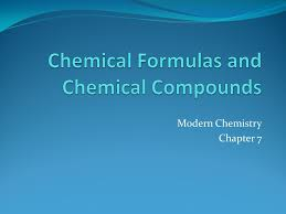modern chemistry chapter 7 ch 7 chemical formulas chemical