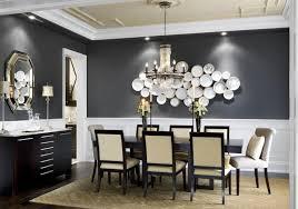 schwarze wände und kreative wandgestaltung mit weißen