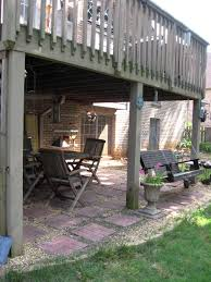 Patio And Deck Combo Ideas by Must Have A Swing Under Our Backyard Patio Patio Seating