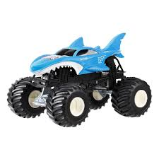 100 Shark Wreak Monster Truck Hot Wheels Jam 124 US 2500 En Mercado Libre