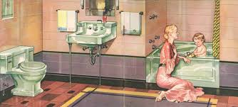 Sinking In The Bathtub 1930 by The Evolution Of Colored Bathroom Fixtures Old House Restoration