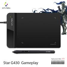 The XP Pen G430 4 x 3 inch Ultrathin Graphic Drawing Tablet for