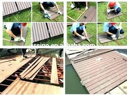 Balcony Floor Covering Ideas Outdoor Deck Flooring