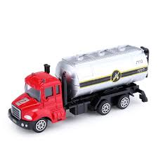 100 Toy Tanker Trucks Alloy 164 Scale Water Truck Emulation Model Vehicles