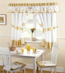 Roosters Kitchen Curtains Walmart In Yellow And White For Decoration Ideas