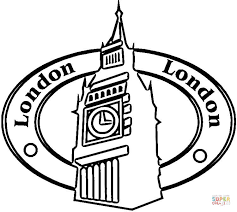 Click The London Is Capital Of Great Britain Big Ben A Symbol England Coloring Pages