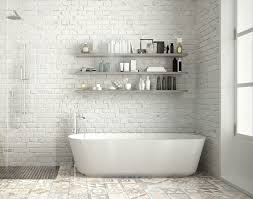 15 Bathrooms With Amazing Tile Flooring Bathroom Tile Designs Trends Ideas For 2019 The Shop 5 For Small Bathrooms Victorian Plumbing 11 Simple Ways To Make A Small Bathroom Look Bigger Designed Natural Stone Tiles And Flooring Marshalls Top Photos A Quick Simple Guide 10 Wall Stylish Walls Floors Tile Ideas My Web Value 25 Beautiful Living Room Kitchen School Height How High Fireclay Find The Right Size Your