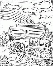 Coloring Book Pages Of Noahs Ark Noah Page Home