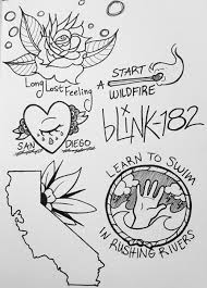 My Flash Sheet For The Deluxe Edition Of California By Blink 182