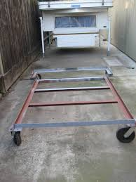 100 Truck Camper Dolly Rolling Cart For Storage Four Wheel