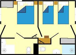 hotel chambre communicante chambres communicantes hôtel centre cyclotouriste les 4 vents