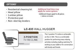 Pride Wall Hugger Lift Chair by Lc 835 Medium Wall Hugger 2 Position Power Lift Recliner By Pride