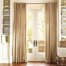 Vertical Striped Window Curtains by Retro Living Room Window Decor With Striped Curtains And Black Rod