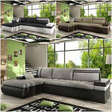ecksofa otto modern sofa mit schlaffunktion und bettkasten