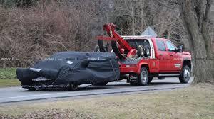 100 Mid Engine Truck D C8 Chevrolet Corvette Caught Dead At Gas Station