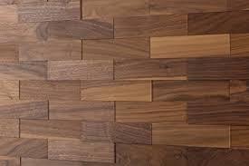 Wodewa Black Walnut Wood Cladding For Interior Walls I 1m2 Wooden Wall 3D Panels