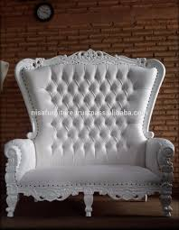 Baroque Highback Wedding Throne Loveseat White Finish Chairs Furniture -  Buy Wedding Loveseat,Throne Chairs,Wedding Throne Chairs Product On ... Living Room High Back Sofa Fresh Baroque Chair Purple Italian Throne Reproduction Gold White Tufted 4 Available Pakistan Arabic Fniture French Baroque Queen Throne Sofa Chair View Wooden Danxueya Product Details From Foshan Danxueya Fniture Amazoncom Theodore Wing Kingqueen Queen Chairs Pair And 50 Similar Items 9 Highback Comfortable For A Trendy Modern Interior Black Leather Frame One Of Our New Products Pinterest Vulcanlyric 86 For Sale At 1stdibs