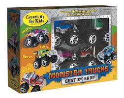 Amazon.com: Creativity For Kids Monster Truck Custom Shop ... Cartoon Trucks Image Group 57 For Kids Truck Car Transporter Toy With Racing Cars Outdoor And Lovely Learn Colors Street Sweeper Big For Aliceme Attractive Pictures Garbage Monster Children Puzzles 2 More Animated Toddlers Why Love Childrens Institute The Compacting Hammacher Schlemmer Fire Cartoons Police Sampler Tow With Adventures