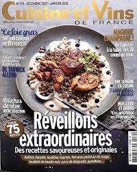abonnement magazine de cuisine cuisine et vins de abonnement 28 images abonnement cuisine et