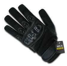 amazon com rapdom tactical carbon fiber knuckle gloves sports