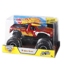 Hot Wheels Monster Jam El Toro Loco Die-Cast Vehicle, 1:24 Scale ... Hot Wheels Monster Jam Pullback Truck By Mattel Mtt21572 Toys Grave Digger Green Amazoncom 124 Scale Bone Shaker Vehicle Sound Smashers Walmartcom Pirate Takedown Samko And Miko Toy Warehouse Maxd Multi Color Chv22dxb06 Dashnjess Crash Carry Arena Play Set 2017 Collectors Series Batman Shop Cars Trucks Mutants Thekidzone Hot Wheels Monster Jam Tropical Thunder On Twitter What Better Way To Celebrate 50 Years Of