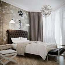 Brown Beige Bedroom Decoration