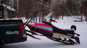 snowmobile lift system the very simple homemade way youtube