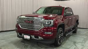 2016 GMC Sierra 1500 Denali Crew Cab Sunroof 22in Gloss Black Wheels ...