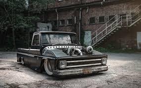 100 Bad Ass Chevy Trucks BADASS CHEVY PICKUP PART 1 1966 C10 On Behance Street Trucks