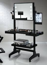 Makeup Table Lighted Mirror Furniture Portable Makeup Table With